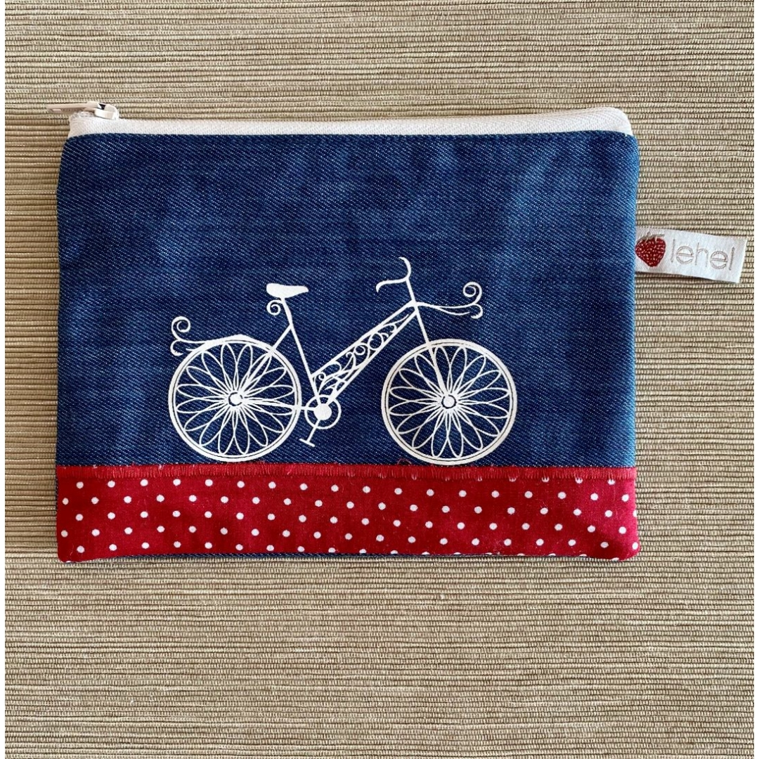 Biciklis pénztárca