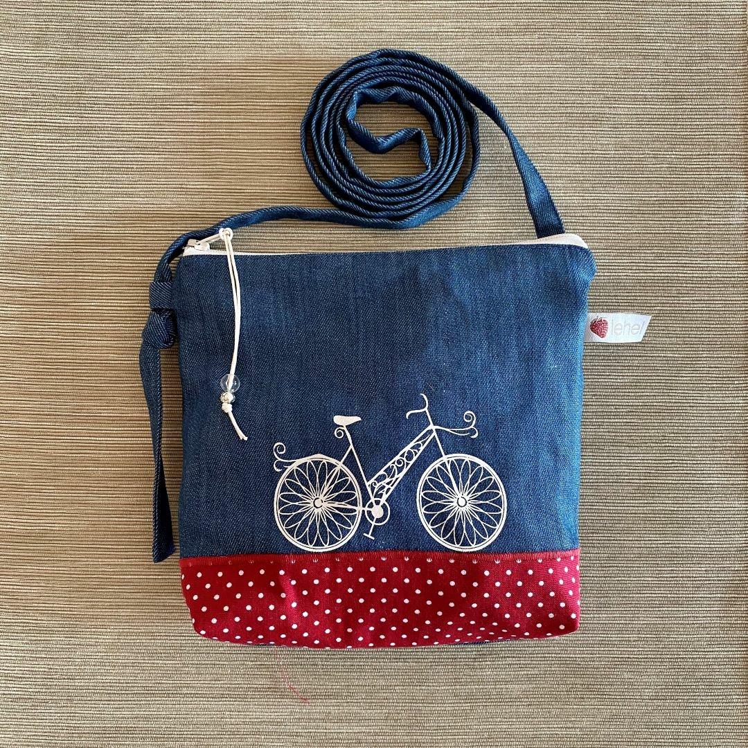 Biciklis táskácska