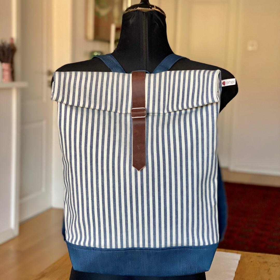 Bőrös hátizsák 2