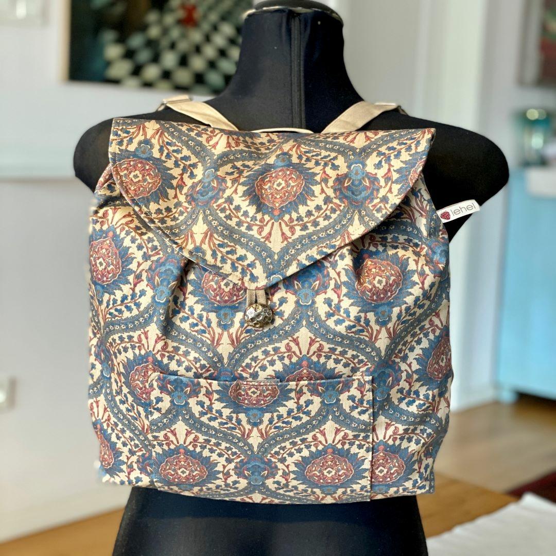 Drapp ornamentika hátizsák