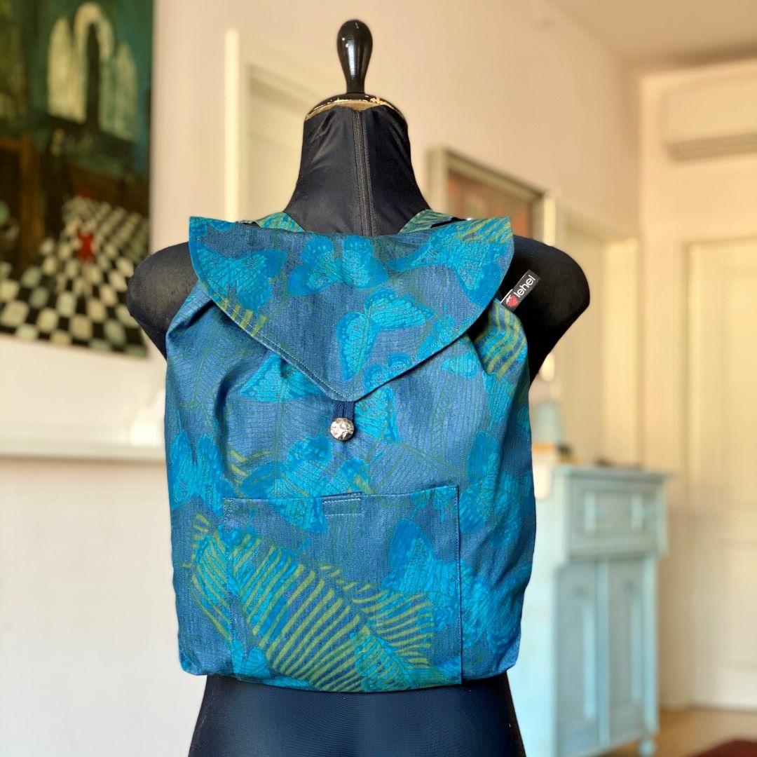 Kék lepkés hátizsák