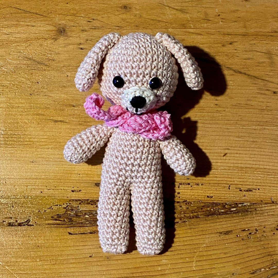 Rózsaszín kutyus