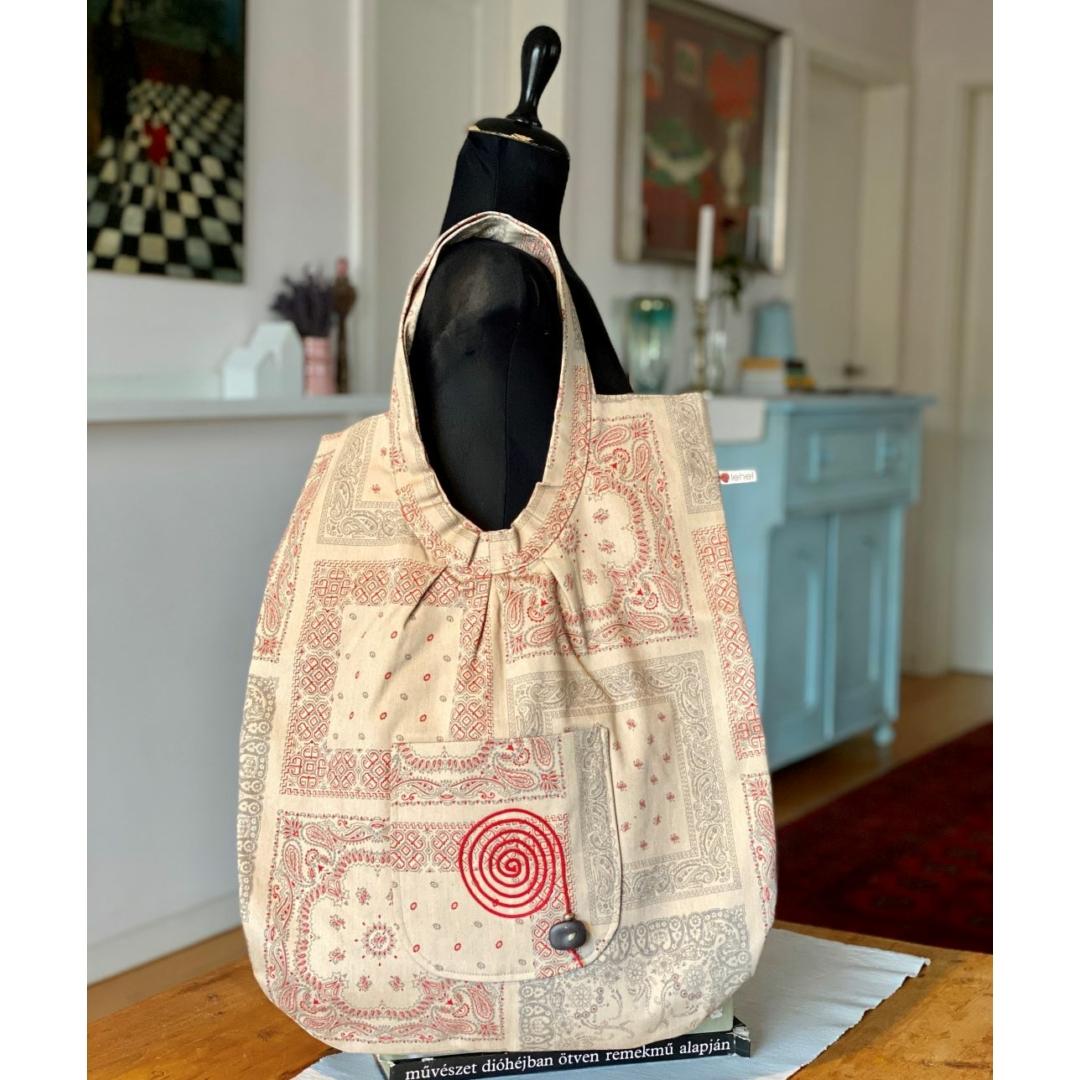 Drapp óriás táska